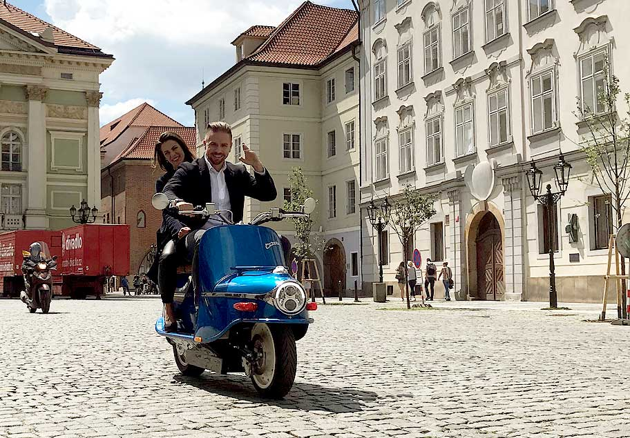 prague scooter rental
